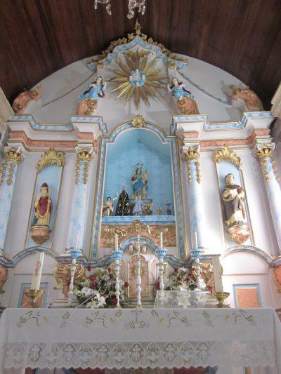Altar da capela de Masgalos